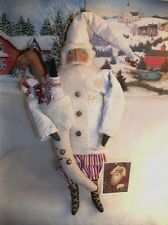 PATTERN, Primitive folk art doll,Christmas Santa by Dumplinragamuffin