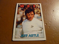 A & A.C. Chicle Fútbol Tarjeta 1972/73 Rojo Naranja Back Jeff Astle West, Brom #153
