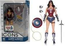 DC COLLECTIBLES ICONS BATMAN: WONDER WOMAN JUSTICE LEAGUE Action Figure 16 cm