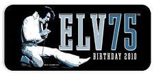 6 ELVIS PRESLEY 75th Birthday 2010 Collectible Guitar PicksTin Medium EPPT05