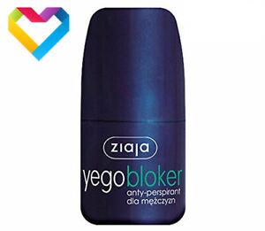 ZIAJA YEGO ROLL ON ANTI-PERSPIRANT BLOCKER FOR MEN 60ml BLOKER 01262