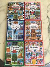 LOT 6 LIVRES L'IMAGERIE édition FLEURUS de la Mer du Cirque Nature des Dinosaure