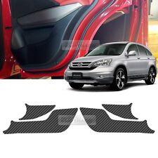 Carbon Door Decal Sticker Cover Kick Protector For HONDA 2007-2010 2011 CR-V