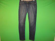 Paige Women's Size 30 Peg Skinny Floral Lining Denim Jeans