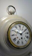 Paul GARNIER - Rare horloge pendule mécanique mouvement 8 jours XIXè
