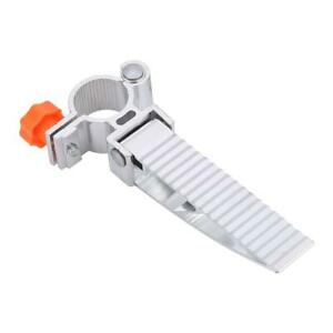 1Pair Al-Alloy 360° Rotation Foldable Pedal Parts For Fishing Chair (Orange)