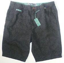 Mens Modern Amusement Black Crow Surf Skate Walk Golf Shorts size 28 NWT #0014