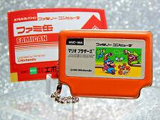 Nintendo Figure - 2006 Mario Bros Famican - Epoch NES Famicom Keychain Promo