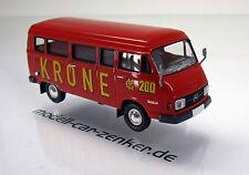Brekina 13258 Mercedes Benz  L 206 D Nr 200 Circus Krone Starmada Scale 1 87 NEU