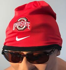 NEW Ohio State Buckeyes OSU Nike Dri-Fit Beanie Hat Cap Men's L/XL Red