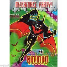 BATMAN BEYOND INVITATIONS (8) ~ Birthday Party Supplies Invites Stationery Cards