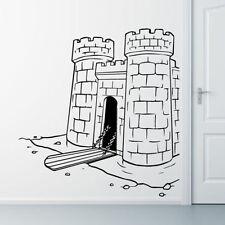Pegatinas de pared color principal negro para el baño