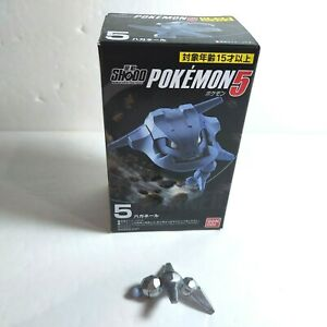 "2020 Pokemon Shodo 5 3"" Steelix Posable Figure w/ Attack #5 Bandai ShoPro Japan"