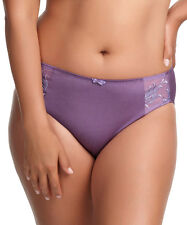 Elomi Caitlyn Collection M Brief Panty Amethyst Purple Medium New