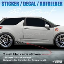Sticker RACING FLAG Citroen DS3 decal aufkleber adesivi pegatina 999