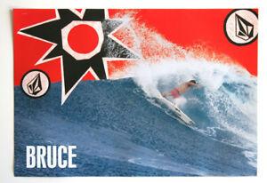 Vintage Volcom Bruce Fers Poussiéreux Payne Surf Poster Neuf