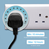 US Plug Outlet Socket Electric 10 Minutes - 12 Hours Timer Switch Mechanical