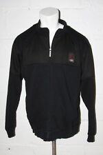 EUC Nike Air Jordan Retro 4 Caged Up Black Full Zip Flight Jacket Sz XXL 507982