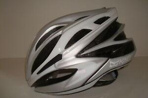 Kali Protectives Loka Road Helmet Crystal Silver, Small/Medium