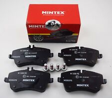 MINTEX FRONT AXLE BRAKE PADS MERCEDES-BENZ C CLK MDB2070 (REAL IMAGE OF PART)