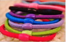 FreePost 5pcs Hair Tie Band Ponytail Holder Elastic Rubber for Girls Women