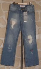 Jean neuf taille 12 ans (150 cm) marque Miss Tika (bc)