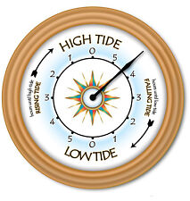 Tide Clock - Times Of High Low Tides - Coast Beach Boat Sailing Fishing - GIFT