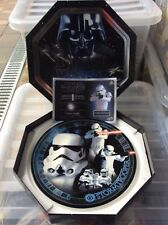 More details for 2005 cards inc star wars numbered rare plate stormtrooper issue