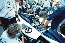 Derek Warwick Brabham BT55 Italian Grand Prix 1986 Photograph 2