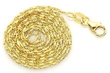 14k yellow gold 18 inch 0.90mm Razo chain necklace lobster 2.53 grams NEW