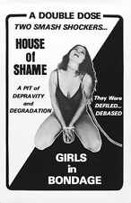 Combo House Of Shame Poster 01 A2 Box Canvas Print