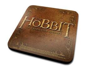 2 x The Hobbit Coasters, Individually Factory Sealed, New