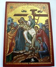 Descente de Croix Christi Icône Jésus Icon