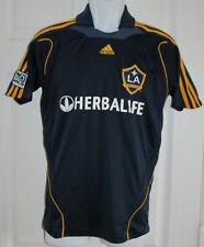 Boys Adidas LA Galaxy David Beckham #23 Herbalife Soccer Jersey Youth Large