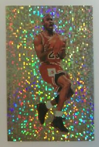 1992-93 PANINI - PRIZM STICKER - #102 - MICHAEL JORDAN - NBA