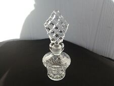 vintage art deco perfume scent bottle crystal vanity