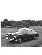 BENTLEY CONTINENTAL S3 DROPHEAD COUPE ORIGINAL PRESS PHOTO 'BROCHURE RELATED'