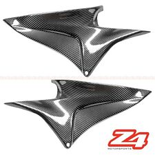 2007-2012 CBR600rr Gas Tank Side Mid Cover Panel Trim Fairing Cowl Carbon Fiber