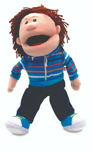 Boy Puppet with moving mouth from Fiesta CraftsTellatale range
