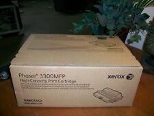 NEW SEAL! GENUINE Xerox 106R01412 HIGH YIELD Toner Cartridge Phaser 3300 3300MFP