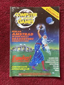 Vintage Computer And Video Games Magazine April 1985