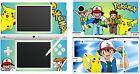 NDSi Nintendo DSi - Pokemon - 4 piezas - Pegatina/Pegatina carcasa VINILO
