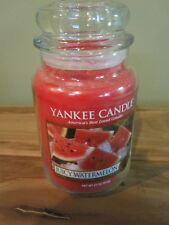 "YANKEE CANDLE, 22 OZ ""JUICY WATERMELON"",  NEW"
