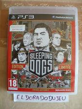 ELDORADODUJEU > SLEEPING DOGS EDITION LIMITEE Pour PLAYSTATION 3 PS3 PROCHE NEUF
