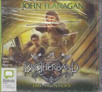 The Hunters 3 Brotherband John Flanagan 10CD Audio Book NEW Unabridged FASTPOST