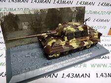 PZ6U Tank militaire 1/72 PANZER n°6 Panzerjäger Tiger SdKfz 186 Allemagne 1945