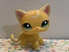 Littlest Pet Shop Lps Authentic 2194 Advent Calender Yellow Swirl Shorthair Cat