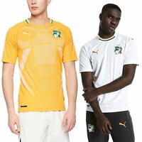 PUMA Official Ivory Coast Home Away Replica Jerseys Men's Football T-Shirt