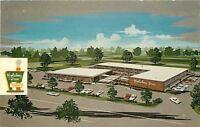 North Chicago Illinois~Waukegan~Holiday Inn Advertising~1973 Postcard
