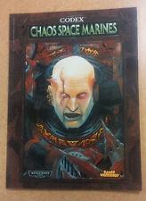 Chaos Space Marines Codex  OOP Warhammer 40K   GW    40,000  Games Workshop